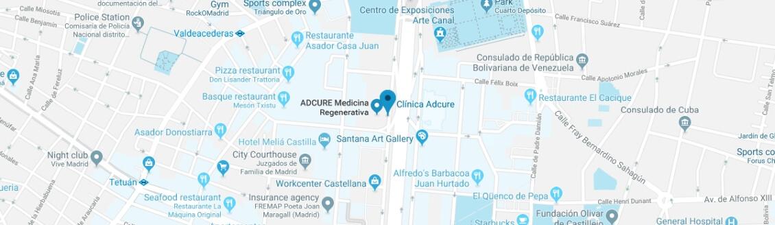 map Locations Madrid