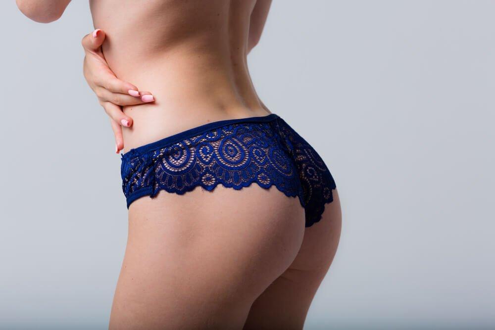 aumento de glúteos con injertos de grasa
